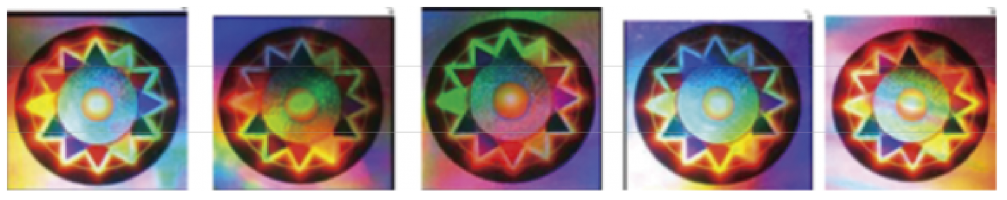 ホログラム商標 例